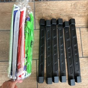 Shopping Bag System with Clips